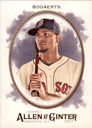 Photo of 2017 Topps Allen and Ginter #158 Xander Bogaerts