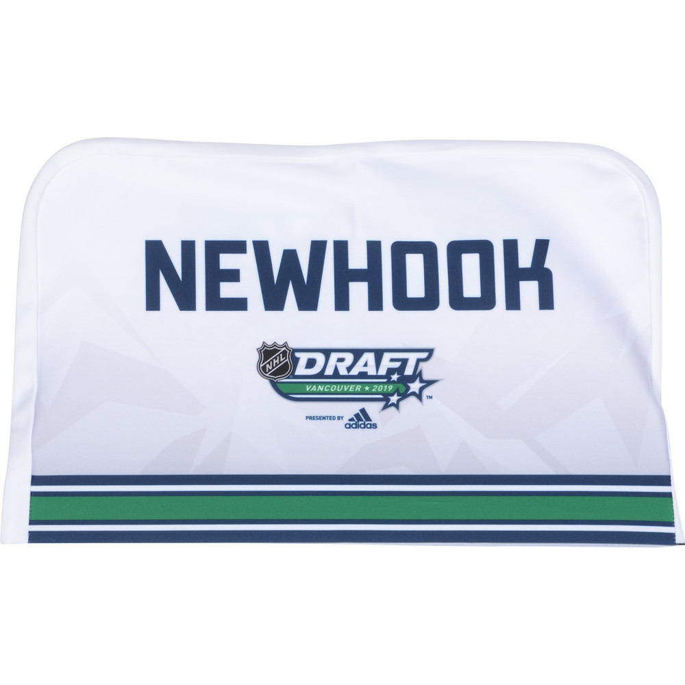 Alex Newhook Colorado Avalanche 2019 NHL Draft Seat Cover - Second set (Not Used)
