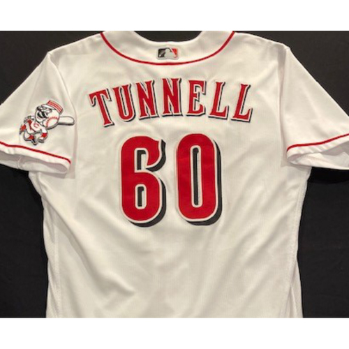Photo of Lee Tunnell -- 2020 Home White Jersey -- Team Issued -- Size 46