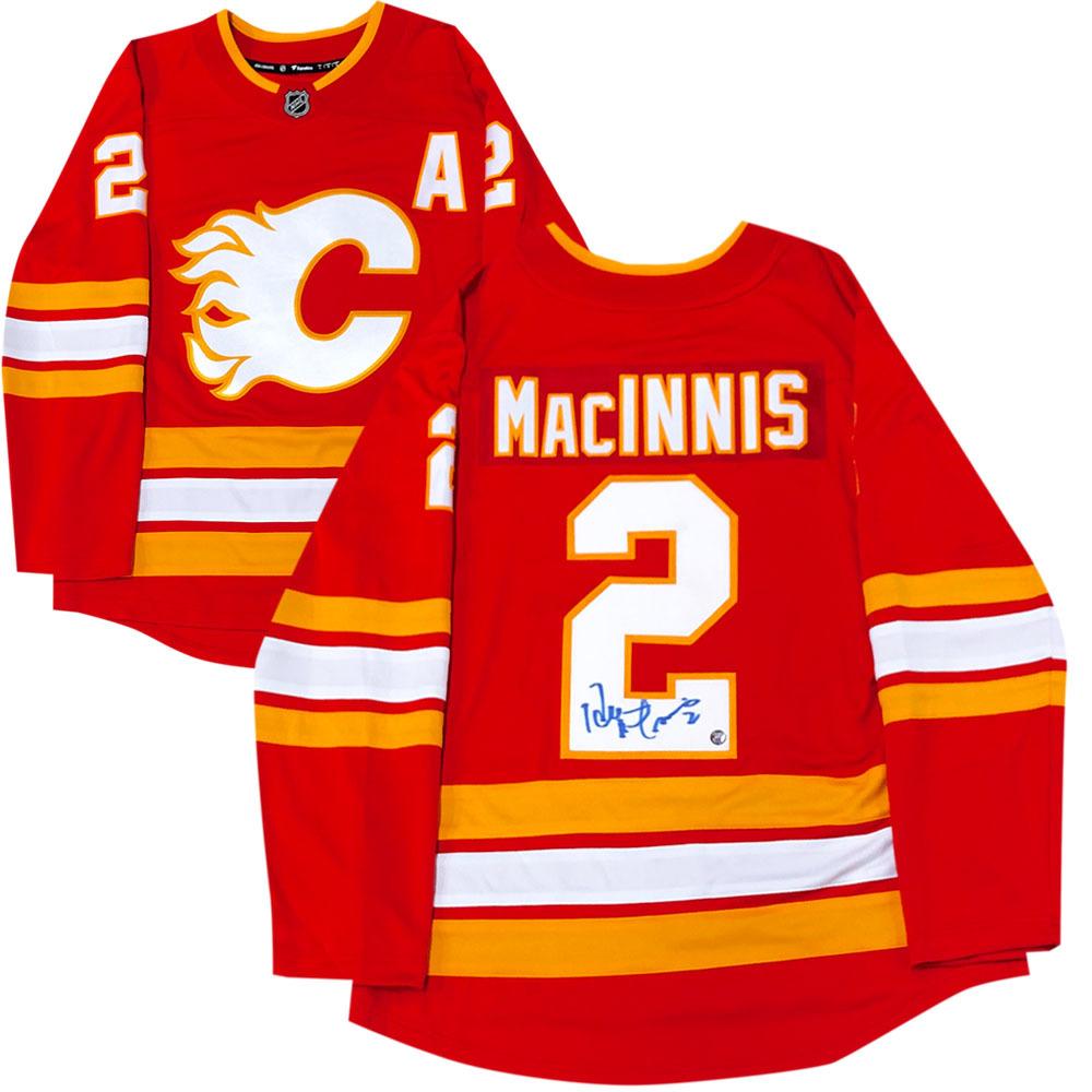 Al MacInnis Autographed Calgary Flames Fanatics Jersey