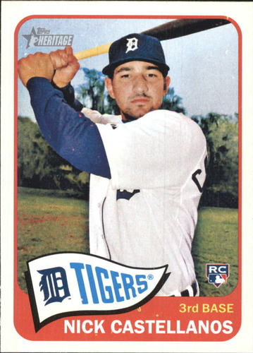 Photo of 2014 Topps Heritage #H552 Nick Castellanos RC