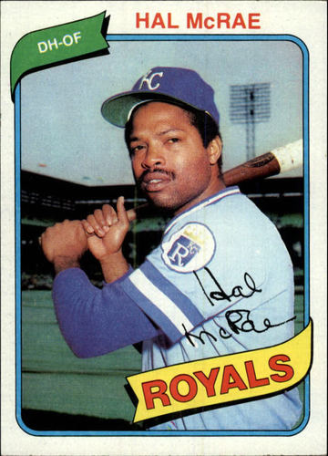 Photo of 1980 Topps #185 Hal McRae