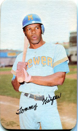 Photo of 1971 Topps Super #63 Tommy Harper