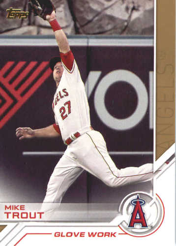 Photo of 2017 Topps Update Salute #USS1 Mike Trout