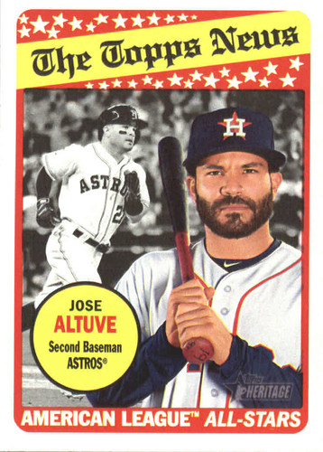 Photo of 2018 Topps Heritage #78 Jose Altuve