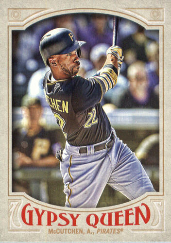 Photo of 2016 Topps Gypsy Queen #88A Andrew McCutchen/Batting