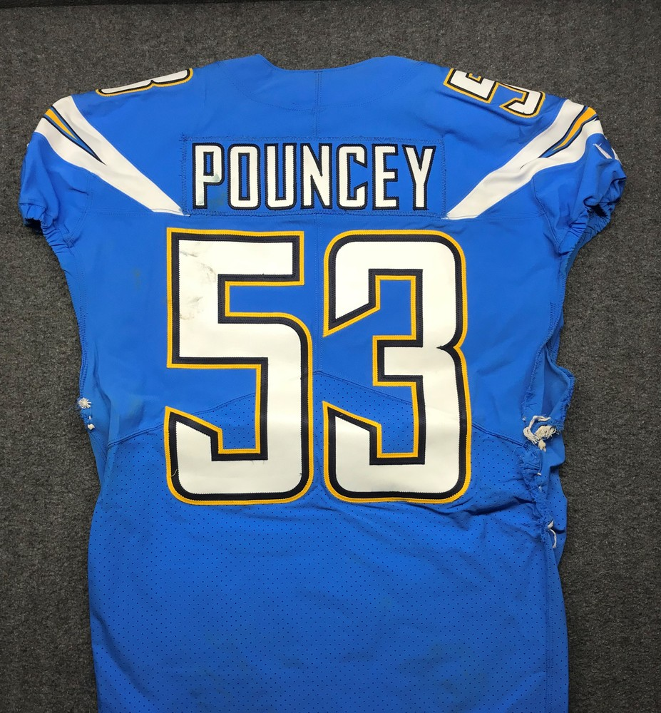 detailed look 921e4 ae06f NFL Auction | California Wildfire Relief - Chargers Mike ...