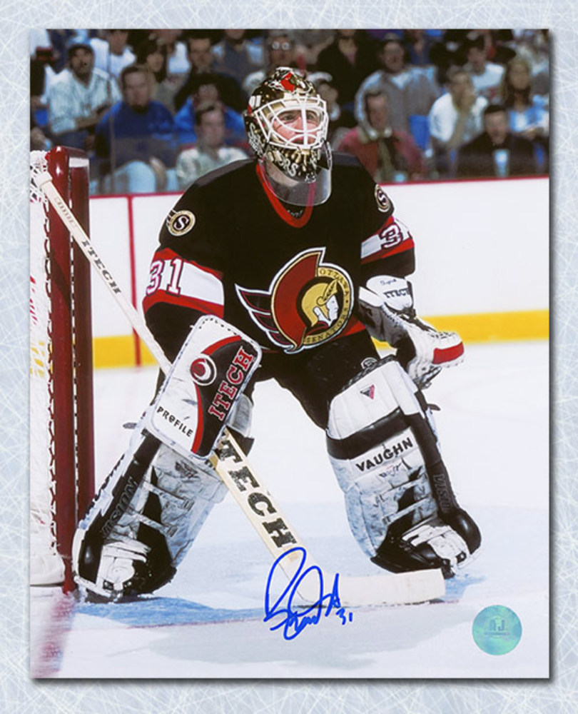 Ron Tugnutt Ottawa Senators Autographed 8x10 Goalie Photo