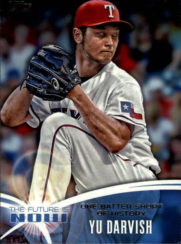 Photo of 2014 Topps The Future is Now #FN28 Yu Darvish