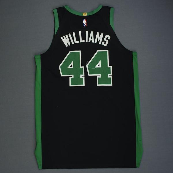 Boston Celtics Robert Williams III Statement Black Swingman Jersey