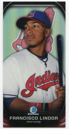Photo of 2015 Bowman Chrome Prospect Profiles Minis #PP6 Francisco Lindor