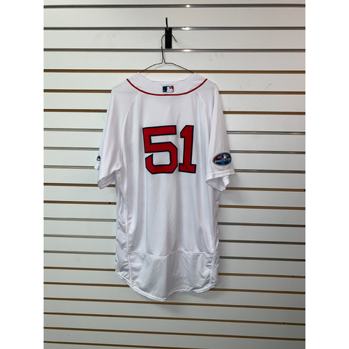 Tim Hyers Game Used April 5, 2018 Home Jersey