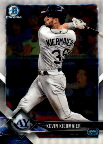 Photo of 2018 Bowman Chrome #73 Kevin Kiermaier