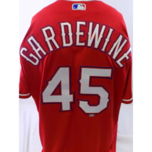 Photo of Team-Issued Red Nick Gardewine Jersey - Size 46