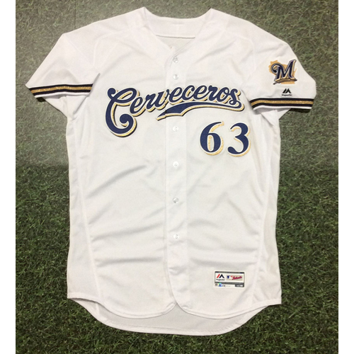 Robinzon Diaz 2019 Team-Issued Cerveceros Jersey