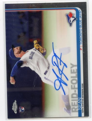 Photo of 2019 Topps Chrome Rookie Autographs #RASRF Sean Reid-Foley