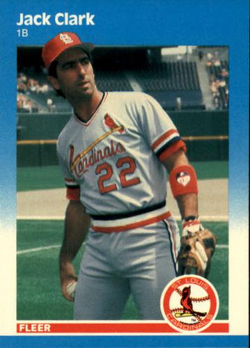 Photo of 1987 Fleer #289 Jack Clark
