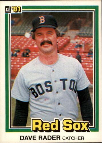 Photo of 1981 Donruss #512 Dave Rader