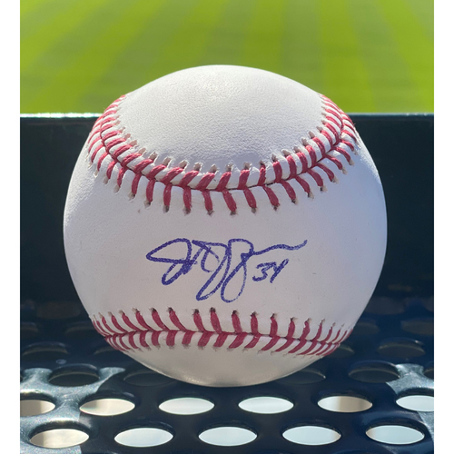 Photo of Colorado Rockies Autographed Baseball: Jeff Hoffman