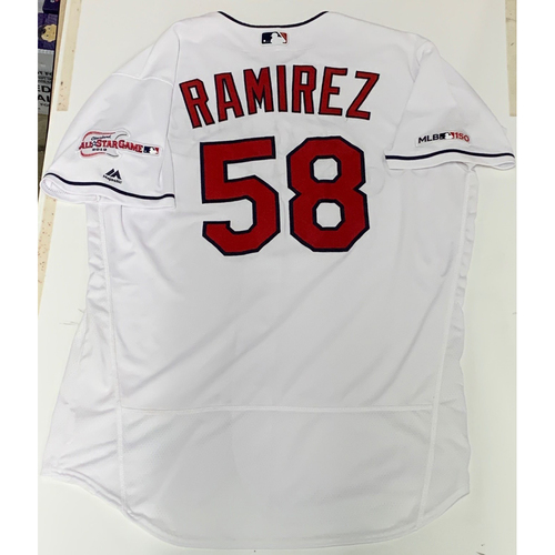 Photo of Neil Ramirez Team Issued 2019 Home Jersey