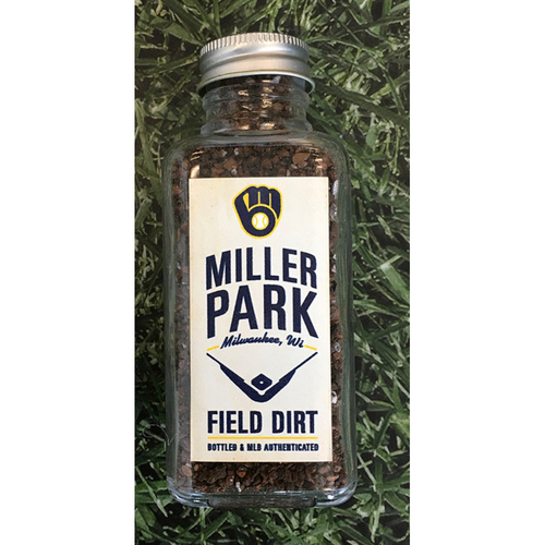 Photo of Game-Used Bottled Dirt - Regular Season at Miller Park