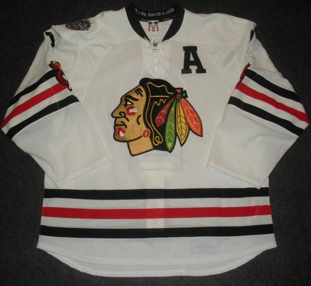 duncan keith game worn jersey