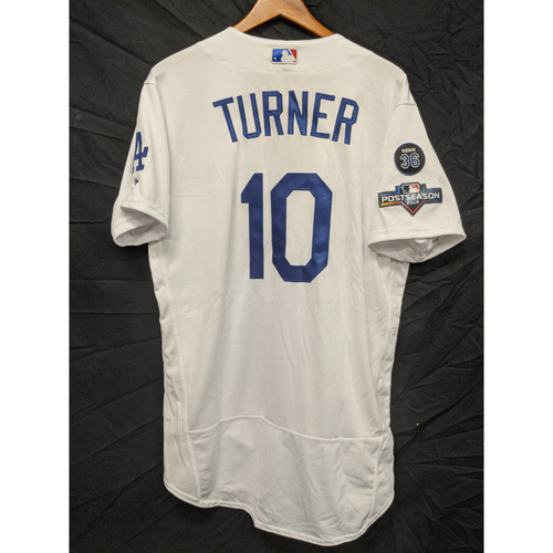 Photo of Justin Turner Team-Issued 2019 Home Postseason Jersey