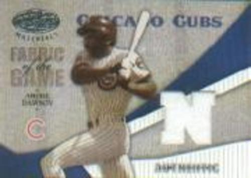 Photo of 2004 Leaf Certified Materials Fabric of the Game AL/NL #8 Andre Dawson Cubs Pants/100