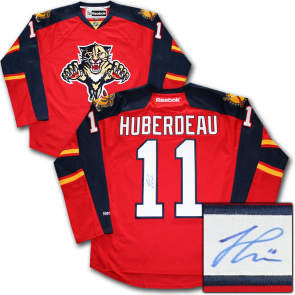 Jonathan Huberdeau Autographed Florida Panthers Jersey