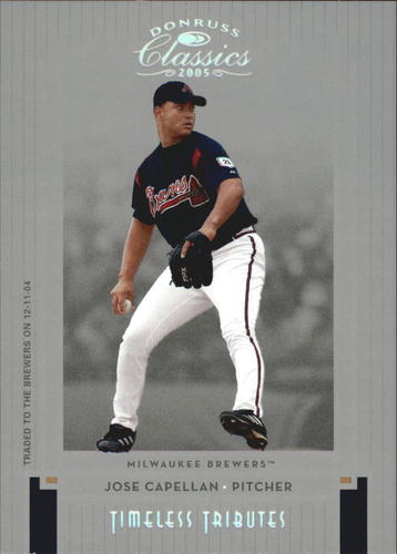Photo of 2005 Donruss Classics Timeless Tributes Silver #157 Jose Capellan