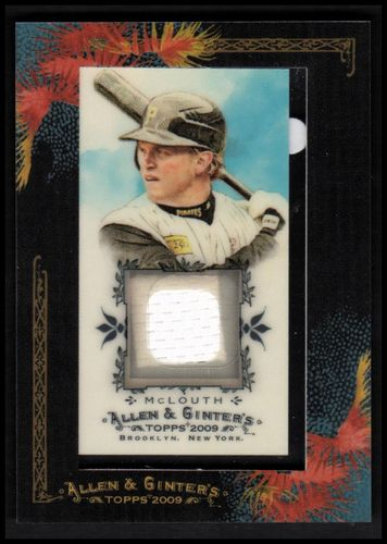 Photo of 2009 Topps Allen and Ginter Relics #NM Nate McLouth Jsy D