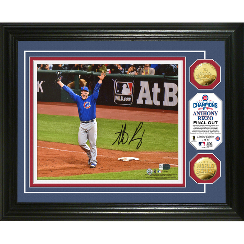 Serial #1! Anthony Rizzo Autographed