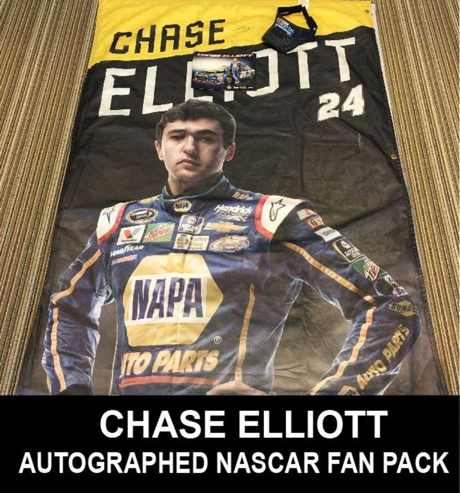 Autographed Chase Elliott NASCAR Fan Pack!!!