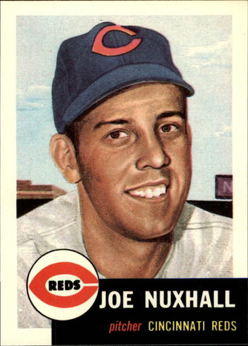 Photo of 1991 Topps Archives 1953 #105 Joe Nuxhall