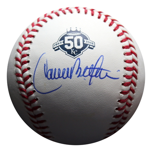 Photo of Autographed 50 Seasons Baseball: Carlos Beltran