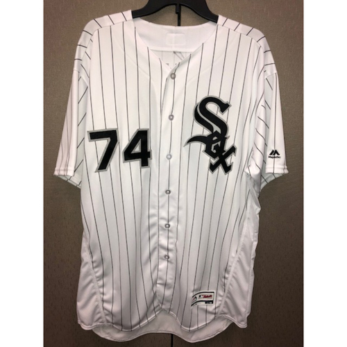 Photo of Eloy Jimenez Autographed Jersey