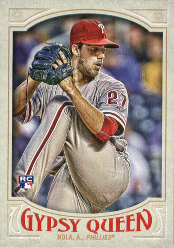 Photo of 2016 Topps Gypsy Queen #95 Aaron Nola RC