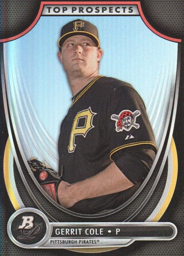 Photo of 2013 Bowman Platinum Top Prospects #GC Gerrit Cole