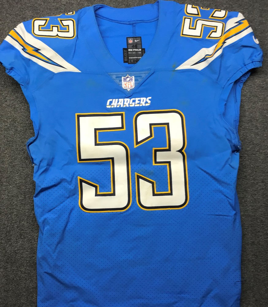 NFL Auction | California Wildfire Relief - Chargers Mike Pouncey ...