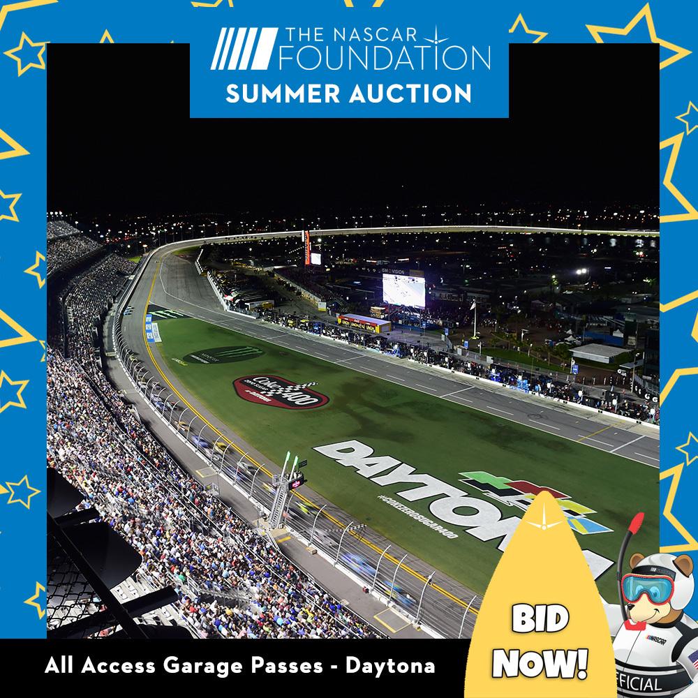 All Access Garage Passes at Daytona!