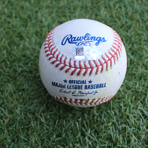 Photo of Game-Used Baseball: Gordon Beckham 181st Career Double (DET @ KC - 6/12/19)