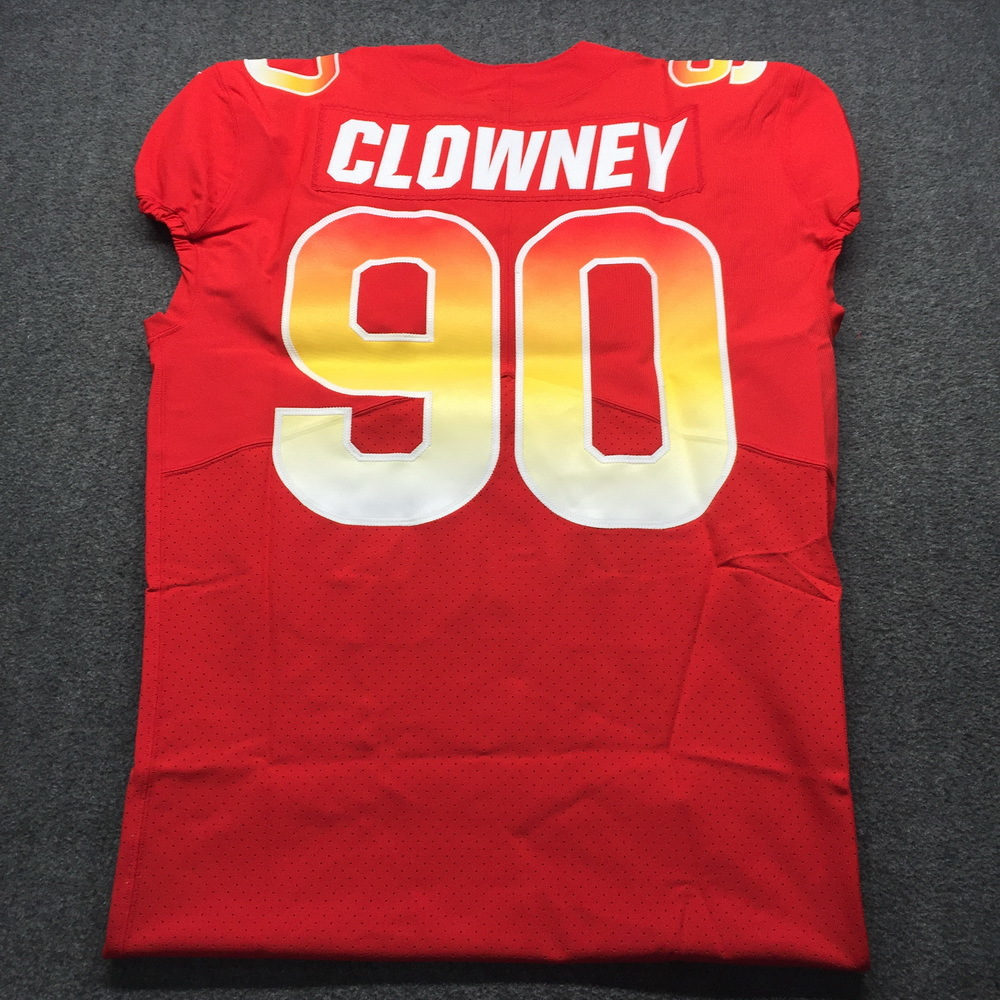 NFL Auction   NFL - Texans Jadeveon Clowney Game Issued 2019 Pro ...