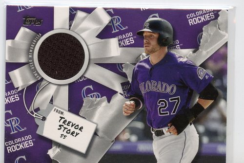 Photo of 2019 Topps Walmart Holiday Relics #WHRTS Trevor Story