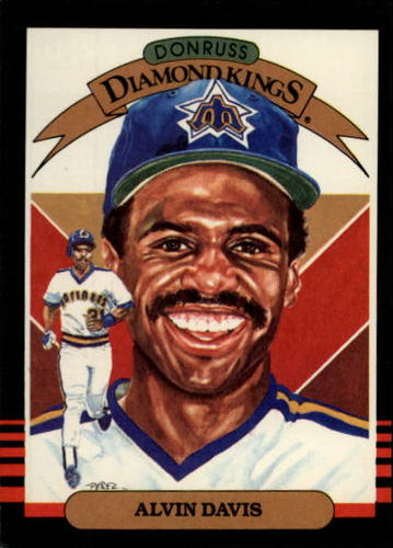 Photo of 1985 Leaf/Donruss #18 Alvin Davis DK
