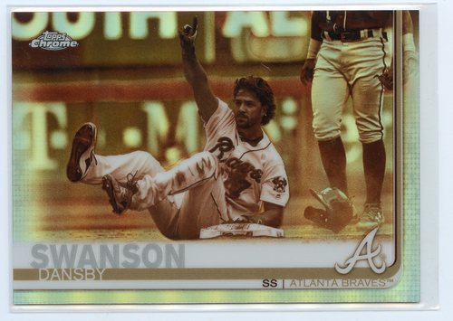 Photo of 2019 Topps Chrome Sepia Refractors #169 Dansby Swanson