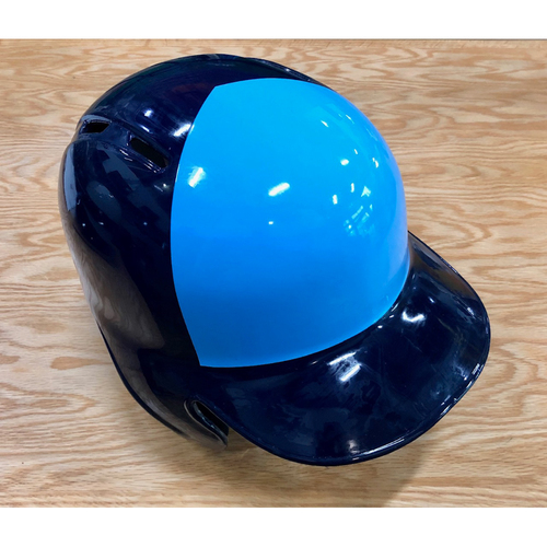 Photo of Rays Baseball Foundation: Team Issued Right Flap Helmet (2-Tone) - Choose Your Size!