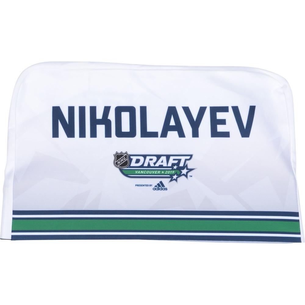 Ilya Nikolayev Calgary Flames 2019 NHL Draft Seat Cover - Second set (Not Used)