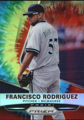 Photo of 2015 Panini Prizm Prizms Tie Dyed #67 Francisco Rodriguez