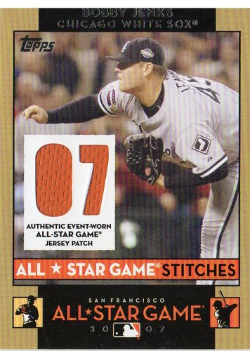 Photo of 2007 Topps Update All-Star Stitches #BJ Bobby Jenks