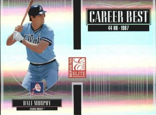 Photo of 2005 Donruss Elite Career Best #9 Dale Murphy